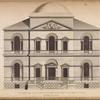 Elevation of a building intended for a mansion house for the Lord Mayor of London.