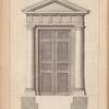 A door of the doric order.