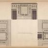 Section of a drawing room at Richard Chandler's, Esq; Burlington Gardens.]