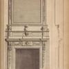 Chimney piece to library, Chesterfield house.]
