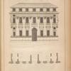 [A front of the composite order. And Palladio.]