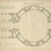 Plan du rez de chaussée du Panthéon à Rome