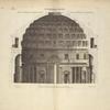 Du Panthéon, à Rome, moitié du profil du costé opposé à l'entrée [...]