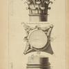 Du portique du Panthéon, à Rome; chapiteau des colonnes sur l'angle [...]