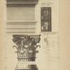 Du dedans du Panthéon, à Rome; soffitte du larmier de la corniche [...]