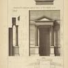 Des petits autel du Panthéon, à Rome; élévation des autel au costé de l'entrée et de la chapelle opposé; [...]