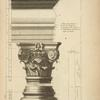 Du temple de Bacchus à Rome; [profile of columns and capitals].