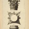 Du temple de Vesta à Rome; face du chapiteau; [...]