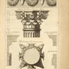 Du temple de Vesta, à Tivoli; ornements de la frise; chapiteau des colonnes dessinà sur l'angle; [...]