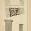 Du temple de Vesta, à Tivoli; profil et soffite du portique; [...]