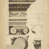 Du temple de la Fortune Virile à Rome [profile of capital].