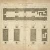 Plans de l'arc de Constantin, à Rome; plan de l'attique; plan du rez de chaussé.