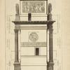 Élèvation du costé de l'arc de Constantin, à Rome.
