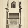 Profil de l'arc de Constantin, à Rome.