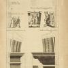 De l'arc de Constantin, à Rome; [profiles of the arches]