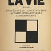 La vie. [Added title page in French.]