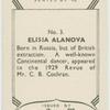 Elisia Alanova.