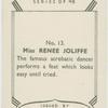Renie Joliffe.