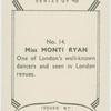 Monti Ryan.