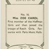 Zoe Carol.