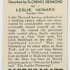 Leslie Howard (London Films).