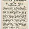 Franchot Tone (Metro-Goldwyn-Metro).