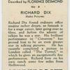 Richard Dix (Radio Pictures).