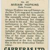 Miriam Hopkins (Radio Pictures).