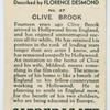 Clive Brook.