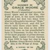 Grace Moore.