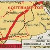Route D. Birmingham - Bournemouth.