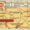 Route D. Birmingham - Bournemouth: Route E. Bristol - Leeds.