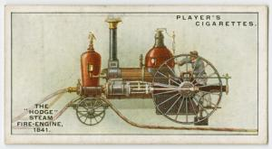 "The ""Hodge"" steam fire-engine, 1841."