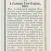 A famous fire-engine, 1863.
