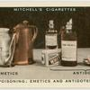 Poisoning: emetics and antidotes.
