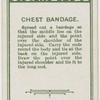 Chest bandage.
