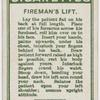 Fireman's lift.