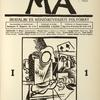 Ma. I. évf., 1. sz., 1916 november. (Vol. I, no. 1, November 1916); V. Beneš : Linoleummetszet.