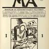 Ma. I. évf., 1. sz., 1916 november. (Vol. I, no. 1, November 1916); V. Beneš : Linoleummetszet.