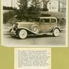 Auburn 1933. Auburn's 12-161A 2-door 5-passenger brougham.