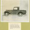 Bantam 1937. American Bantam pick-up truck.