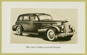 The 1938 Cadillac-Fleetwood.