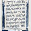 Allan Line, Glasgow, Liverpool, London, Havre.