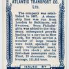 Atlantic Transport Line, London.