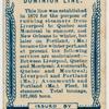 Dominion Line, Liverpool.