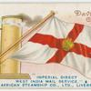 """""""Imperial Direct West India Mail Service"""",  and African Steamship Co, Ltd., Liverpool."""