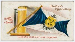 Hamburg-America Line, Hamburg.