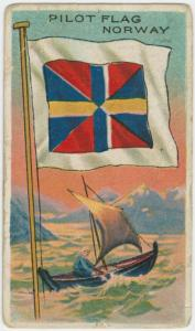 Pilot flag Norway.