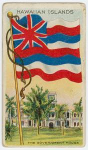 Hawaiian Islands: the Government House.