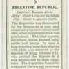 Argentine Republic.